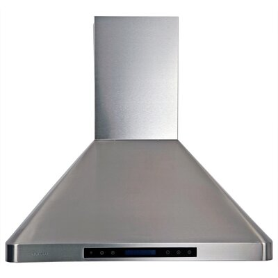 "Cavaliere Stainless Steel 30"" x 20"" Wall Mount Range Hood with Adjustable Airflow at Sears.com"