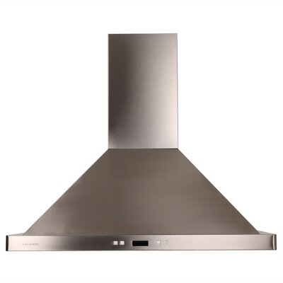 "Cavaliere Stainless Steel 36"" x 24"" Island Mount Range Hood with 900 CFM at Sears.com"
