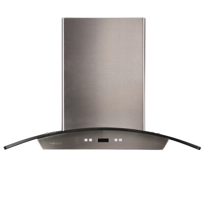 "Cavaliere Stainless Steel 30"" x 24"" Island Mount Range Hood with 900 CFM at Sears.com"