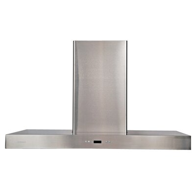 "Cavaliere Stainless Steel 48"" x 24"" Island Mount Range Hood with 900 CFM at Sears.com"