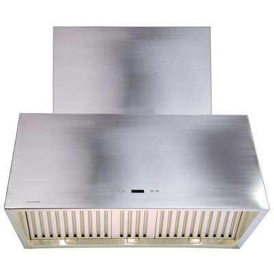 "Cavaliere Stainless Steel 36"" x 24"" Wall Mount Range Hood with1200 CFM at Sears.com"