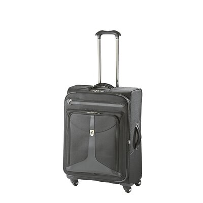 "Atlantic Luggage Odyssey Lite 25"" Expandable Spinner Suitcase - Color: Black at Sears.com"