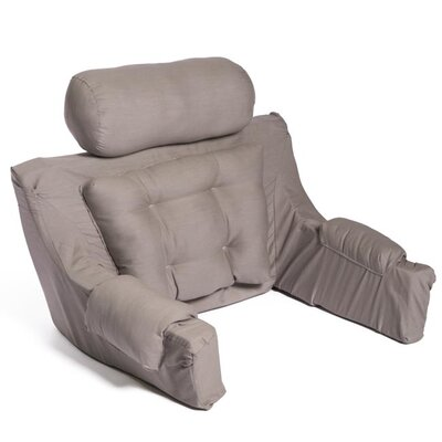 Deluxe Lounger Backrest Color: Dove Grey