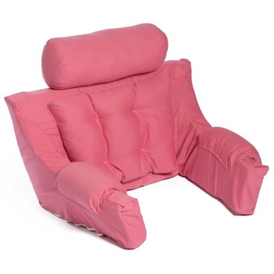 Deluxe Lounger Backrest Color: Coral Rose