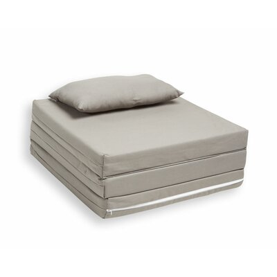 Tri-Fold Bed Color: Dove Grey