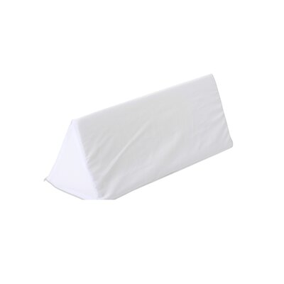 Aligner Polyfill Body Pillow Cover Color: White