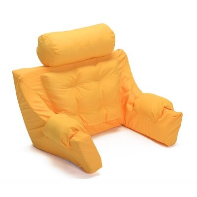 Deluxe Lounger Backrest Color: Sunflower Yellow