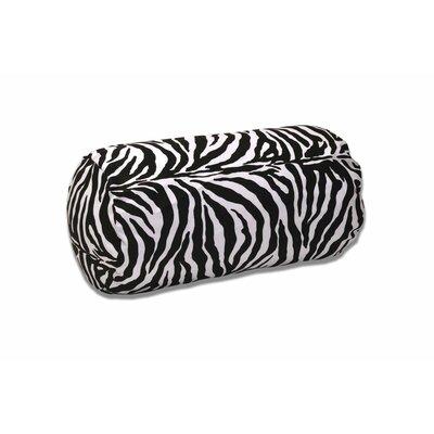 Oversize Bolster Pillow Color: Zebra Print