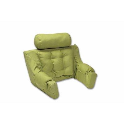 Deluxe Lounger Backrest Color: Leaf Green Canvas