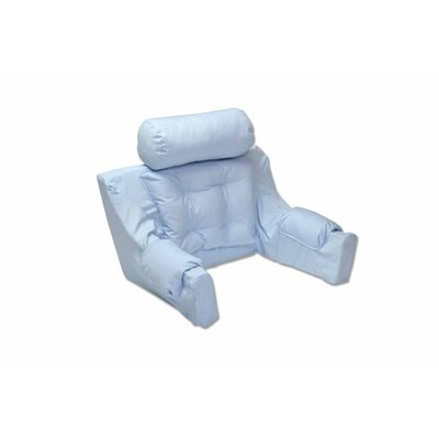 Deluxe Lounger Backrest Color: Ice Blue Twill