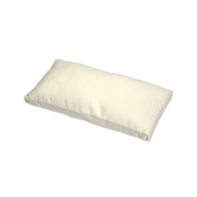 Gusset and Removable Throw Pillow Color: Beige