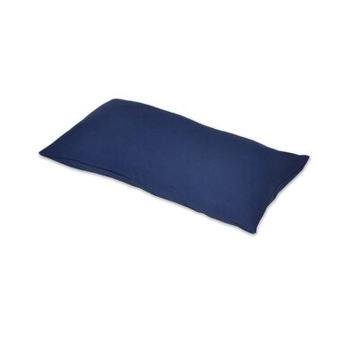 Removable Lumbar Pillow Color: Navy