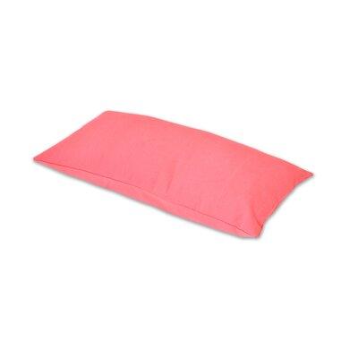 Removable Lumbar Pillow Color: Rose