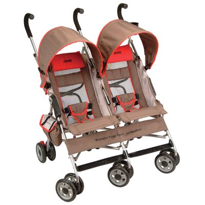 7a2a28f9eee Jeep Wrangler Twin Sport All Weather Baby Stroller
