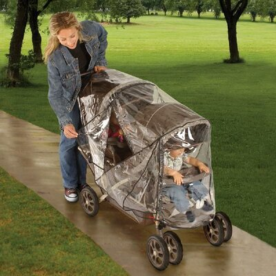Jeep Baby Products Deluxe Tandem Stroller Weather Cover Shield at Sears.com