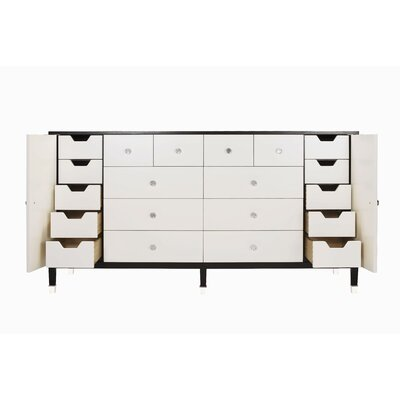 Buy Low Price Belle Meade Signature Modern Glamour Monroe 8 Drawer