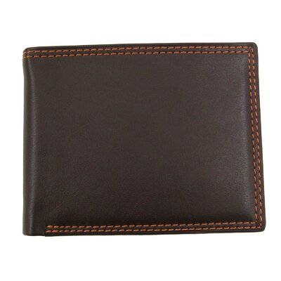 Style N Craft Bifold Slim Wallet in Soft High Grade Cow Leather - Color: Brown at Sears.com