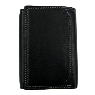 Style N Craft Tri-Fold Wallet in Soft High Grade Cow Leather - Color: Black at Sears.com