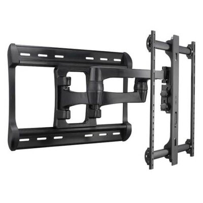 Full-Motion Swivel/Extending Arm Universal Wall Mount for 42-90 Flat Panel Screens