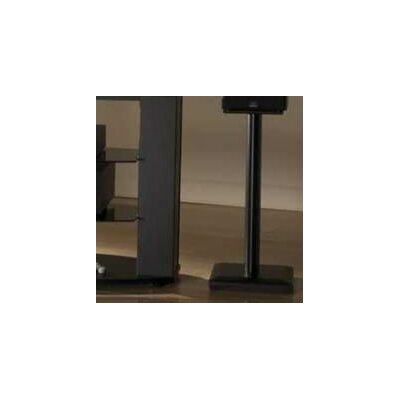 Natural 24 Fixed Height Speaker Stand Finish: Black