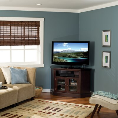 Basic Foundations TV Stand Color: Chestnut