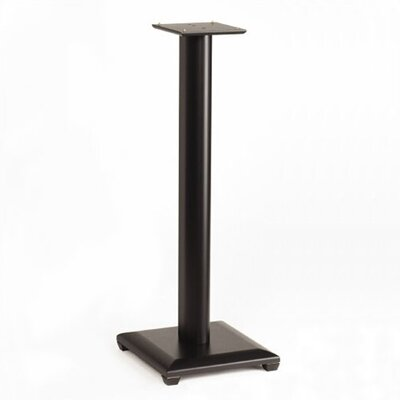 Natural 30 Fixed Height Speaker Stand in Black