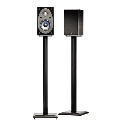 Natural Black 36 Fixed Height Speaker Stands