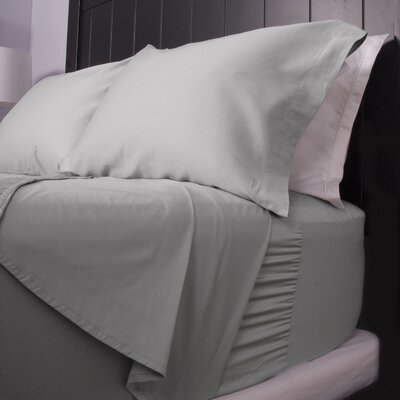 300 Thread Count Cotton Sateen Sheet Set Size: Queen, Color: Gray