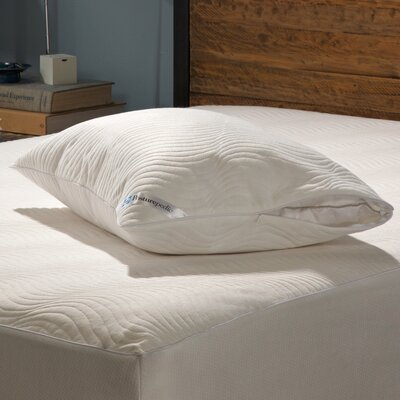 Posturepedic Cooling Comfort Zippered Pillow Encasement Size: King