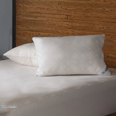 Posturepedic Maximum Protection Zippered Pillow Encasement Size: Standard / Queen