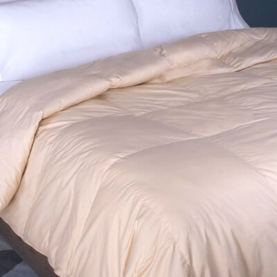 Down Alternative Comforter Size: King, Color: Cream