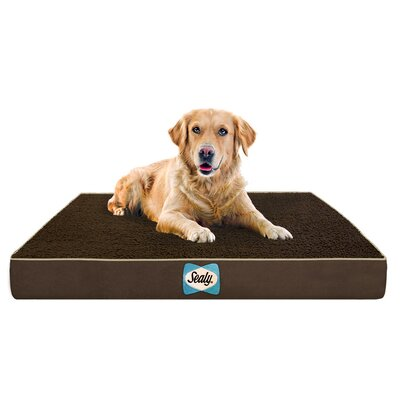 Supreme Sherpa Dog Bed Color: Autumn Brown, Size: Medium