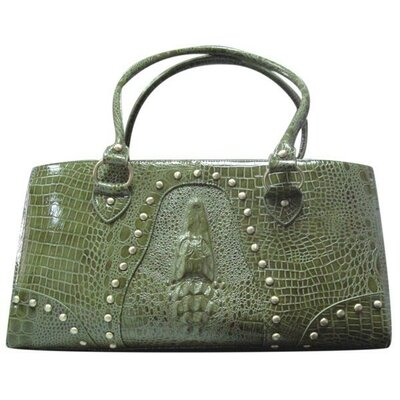 Handbag Pet Carrier Color: Green