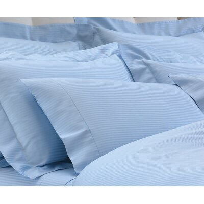 Millerighe Pillowcases Color: Sky Blue, Size: King