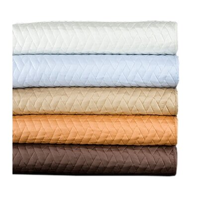 Raso Quilt Color: Ivory, Size: Queen