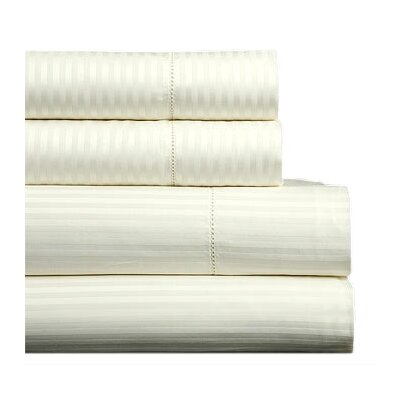Millerighe 300 Thread Count Cotton Flat Sheet Color: White, Size: Queen