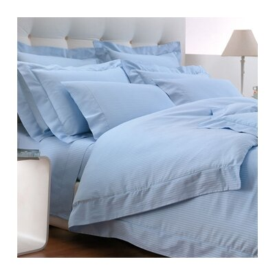 Millerighe 300 Thread Count Cotton Fitted Sheet Size: King, Color: Sky Blue