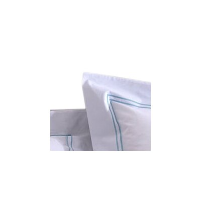 Manhattan/Hotel Pillowcase Color: Sky Blue, Size: King