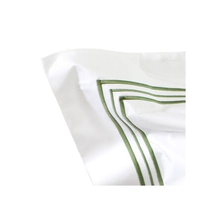 Tivoli Pillowcase Size: King, Stitch Color: Ivory