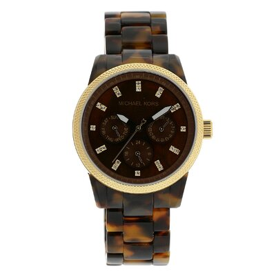 a new watches comparison michael kors tortoise shell
