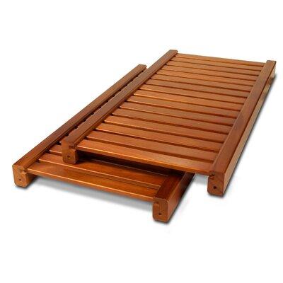 12 Deep Woodcrest Adjustable Shelves Finish: Carmel