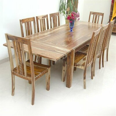 Sahara Extendable Solid Wood Dining Table