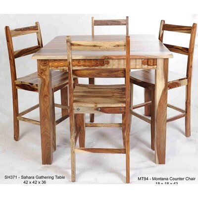 Montana Solid Wood Dining Chair