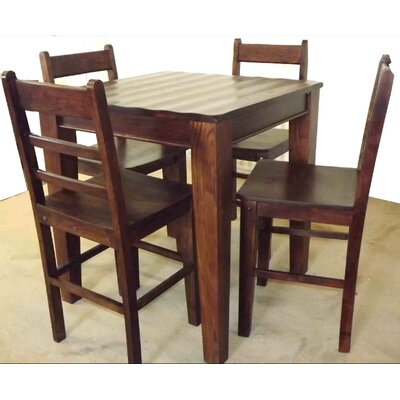 Wave 5 Piece Dining Set