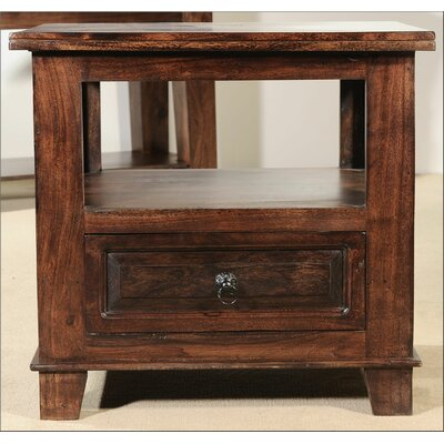 Castle End Table