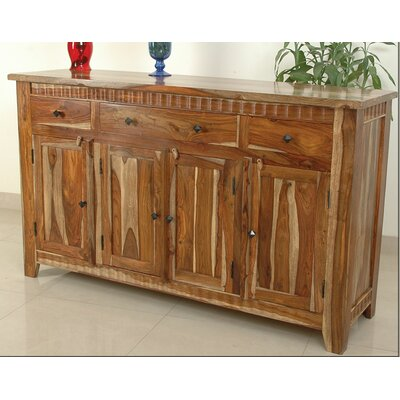 Sahara 4 Door and 3 Drawer Sideboard