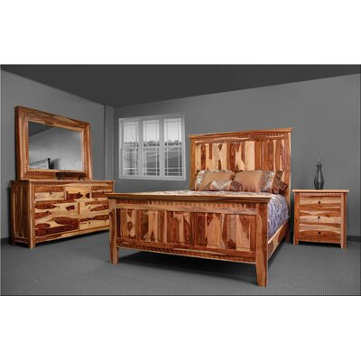 Sahara Queen Panel Configurable Bedroom Set