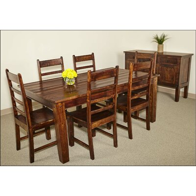 Luella Solid 7 Piece Dining Table Set