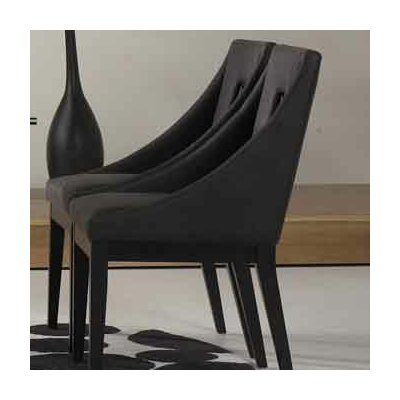 arm chair set of 2 upholstery charcoal gray dining chair mart