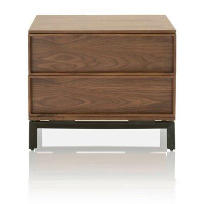Deshazo 2 Drawer Nightstand